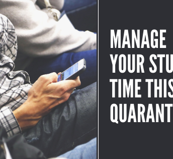 Manage Your Study Time This Quarantine
